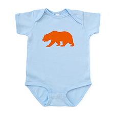 Orange California Bear Body Suit
