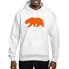 Orange California Bear Jumper Hoody