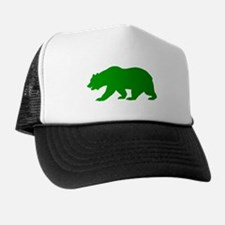 Green California Bear Hat