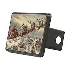 Vintage Christmas Santa Cl Hitch Cover