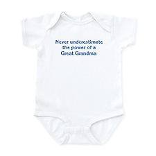 Great Grandma Power Infant Bodysuit
