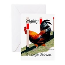 NOT for Chickens! Greeting Cards (Pk of 10)