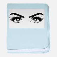 Eyes baby blanket