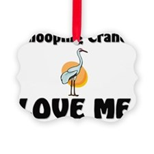 Whooping-Cranes10812 Ornament