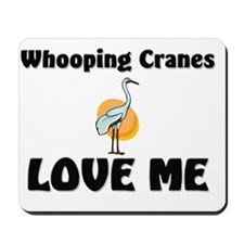 Whooping-Cranes10812 Mousepad