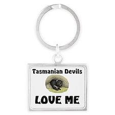 Tasmanian-Devils8641 Landscape Keychain