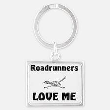 Roadrunners12294 Landscape Keychain