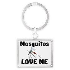 Mosquitos8167 Landscape Keychain