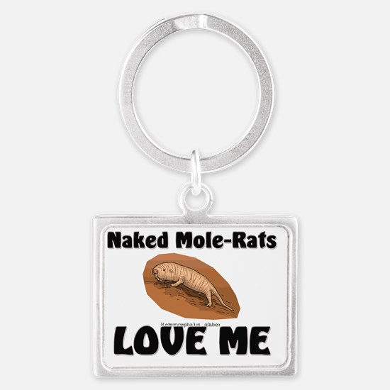 Naked-Mole-Rats45161 Landscape Keychain