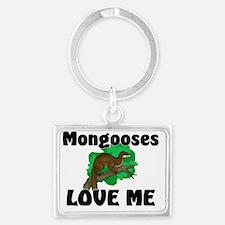 Mongooses16171 Landscape Keychain