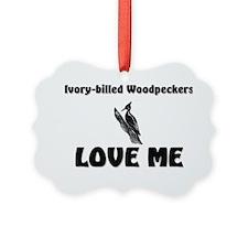 Ivory-billed-Woodpec6220 Ornament