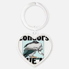 Condors106322 Heart Keychain