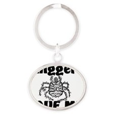 Chiggers32336 Oval Keychain