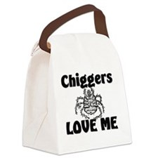 Chiggers32336 Canvas Lunch Bag