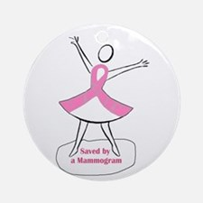 Mammograms Are Important Ornament (Round)