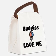 Budgies124361 Canvas Lunch Bag