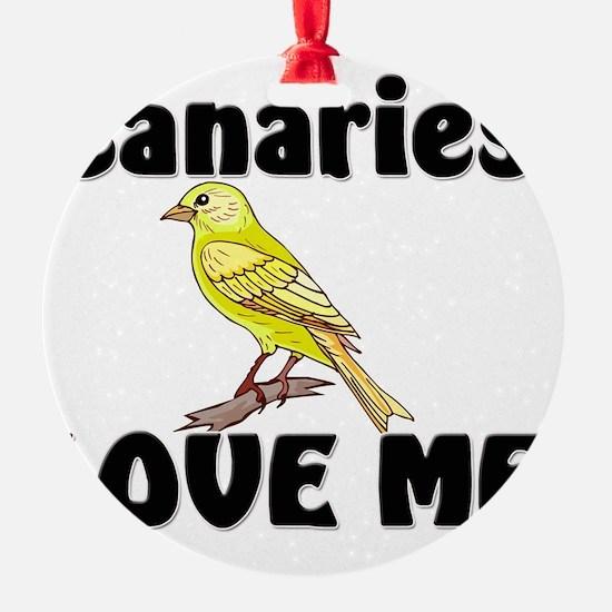 Canaries91349 Ornament
