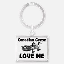 Canadian-Geese28350 Landscape Keychain