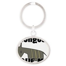 Bongos32365 Oval Keychain
