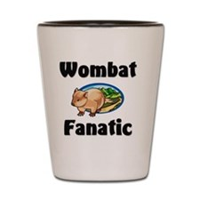 Wombat186 Shot Glass
