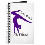 Gymnastics Journals & Spiral Notebooks