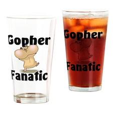Gopher72256 Drinking Glass