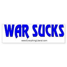 War Sucks Bumper Bumper Sticker