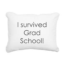 survivegrad.png Rectangular Canvas Pillow