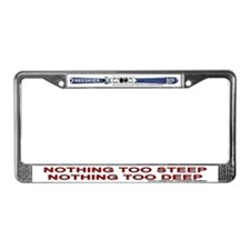 Big Air Ski Wear - Nothing 2 - License Plate Frame