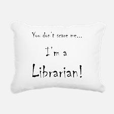 Cute Library Rectangular Canvas Pillow