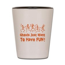 Dancing Ghouls Shot Glass
