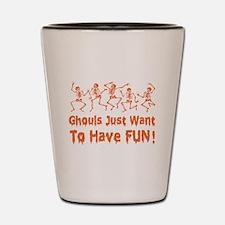 Dancing Ghouls Shot Glass