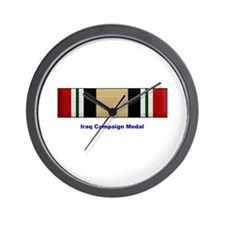 Iraq Campaign Medal Wall Clock