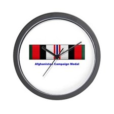 Afghanistan Campaign Medal Wall Clock