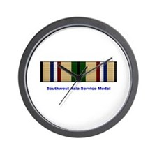 Southwest Asia Service Medal Wall Clock