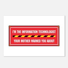 I'm the Info. Tech. Postcards (Package of 8)