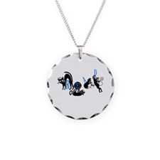 Cats Read Necklace