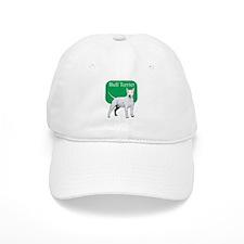 Bull Terrier Title Baseball Cap