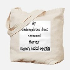 Chronic Illness Quote Tote Bag