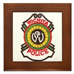 Wichita Police Framed Tile