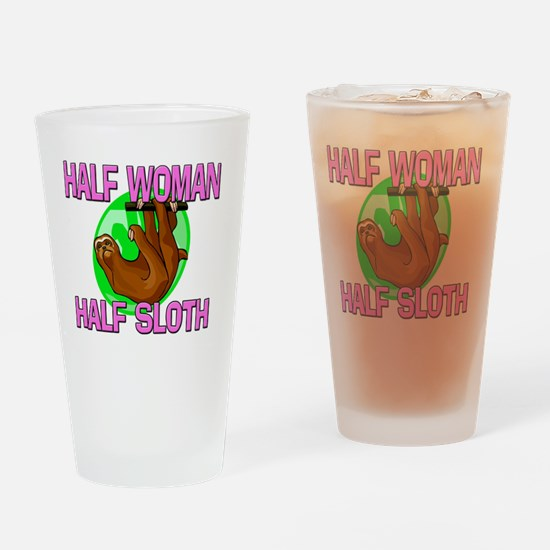 SLOTH5267 Drinking Glass