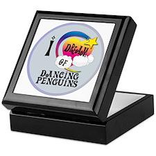 I Dream of Dancing Penguins Keepsake Box