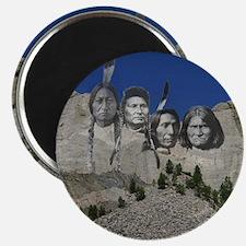 "Native Mt. Rushmore 2.25"" Magnet (10 pack)"