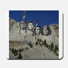 Native Mt. Rushmore Mousepad