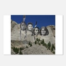Native Mt. Rushmore Postcards (Package of 8)