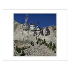 Native Mt. Rushmore Posters