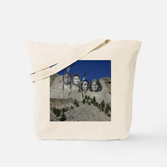 Native Mt. Rushmore Tote Bag