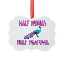 PEAFOWL36133 Ornament