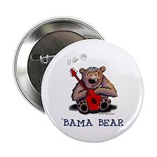 Luv My 'BAMA BEAR Button