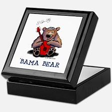 Luv My 'BAMA BEAR Keepsake Box